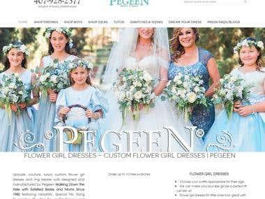 Pegen Costumes Website