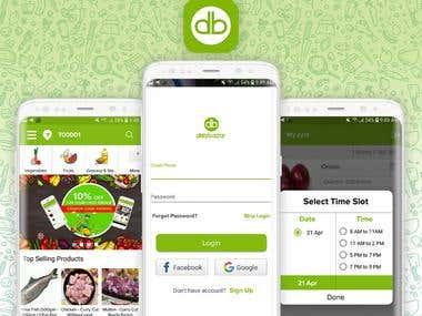 Delybazar - Ecommerce Web & Mobile app