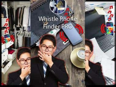Whistle to find phone