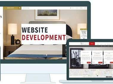 Website designed for LE TSUB