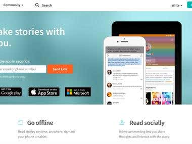 WattPad Mobile Application