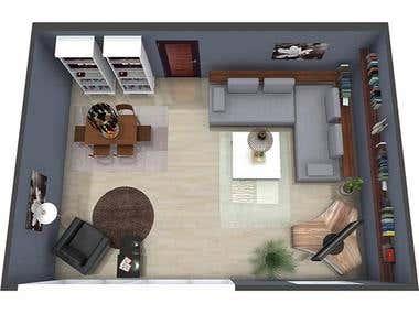 Room Sketcher Living Room Plan