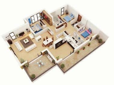 Room Sketcher Full house Plan