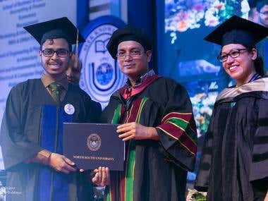 22ND CONVOCATION CEREMONY AT NORTH SOUTH UNIVERSITY