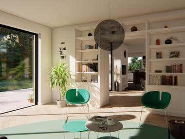 Interior Renderings (Set 1)