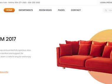 Wordpress Ecommerce site(Fully responsive)