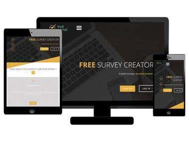 Free Survey Site ( https://pollanimal.com/ )