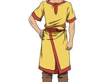 2D character