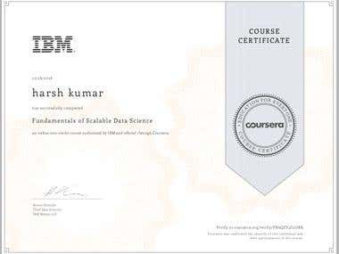 IBM certified DATA SCIENTIST