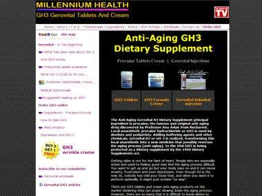 Anti-aging GH-3 Tablets