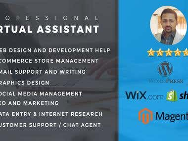 Professional Virtual Assistant - JDM
