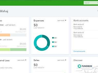 Intuit Quick-books Online (Bookkeeping)