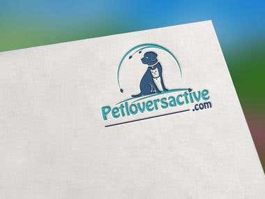 Pet lover company logo