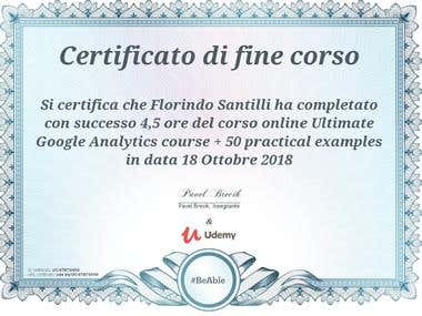 Ultimate Google Analytics course