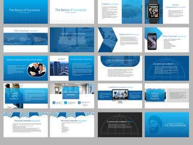 Powerfull Insurance Pitch deck (Full texted version)