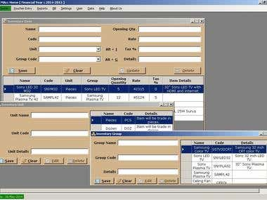 MAcc :: Accouting Software for Metal Trade