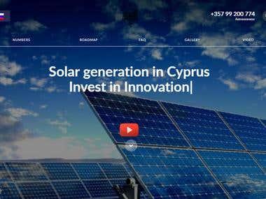 Solar Generation Website
