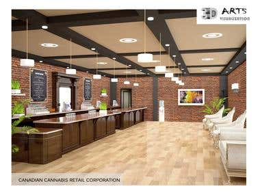 9. Interior Commercial Project.