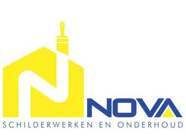 Nova House Painters Logo