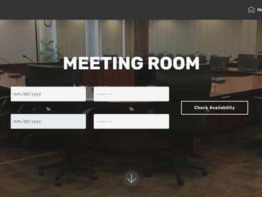 Conference - Meeting Room Reservation System