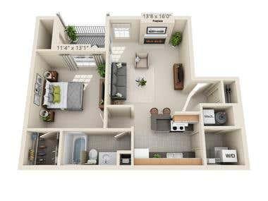 20. Floor plan.
