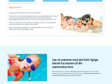 Swim Club (Wordpress)