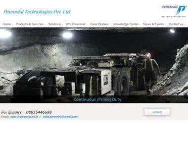 Website for Perennial Technologies