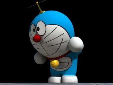 3D Doraemon Model