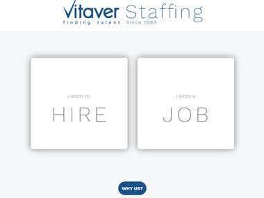 Vitaver Staffing Website