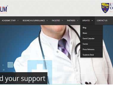 Website for Tedric