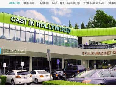 Cast in Hollywood (WordPress Website)