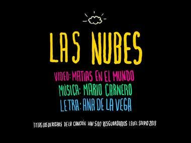 """Las nubes (the clouds)"" - animated videoclip"