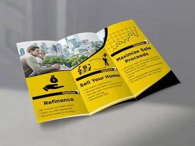 Trifold flyer design