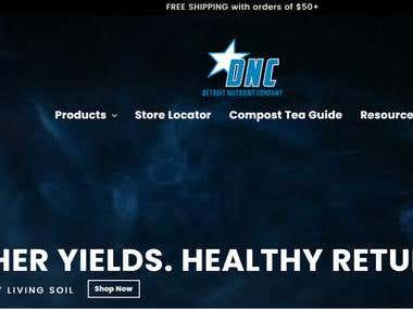 Detroit Nutrient Company - Shopify