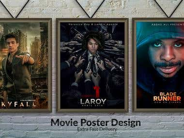 Any Kind Of Professional Movie Poster