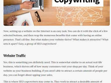 SEO Copywriters Can Bring Your Website Back From the Dead