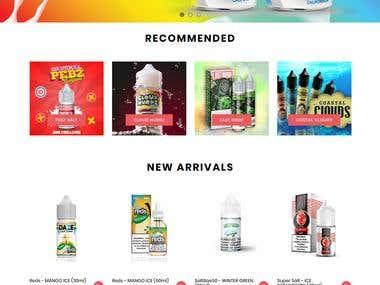 Vape Universe e-Commerce Magento store https://vapeuniverseu
