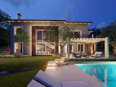 HOUSE, POOL&GARDEN RENOVATION DESIGN