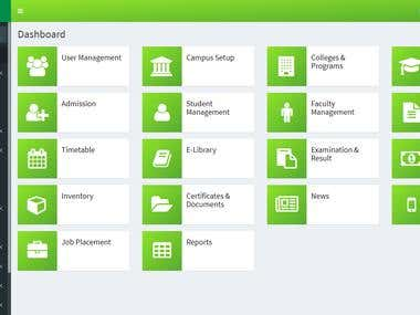 IMS - Institute Management System - Web Application