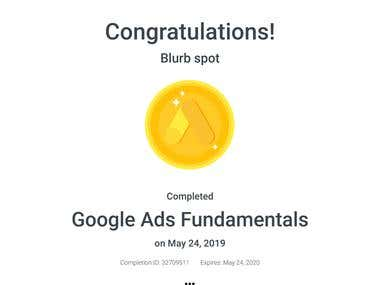Google Fundamental Certification