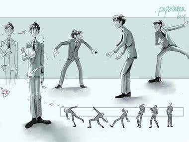 Fan Art. Concept Paperman