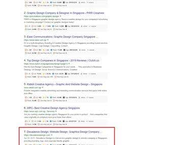 Complete Organic SEO - Position Top #5