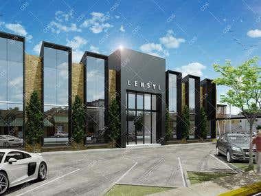 Lensyl facade design