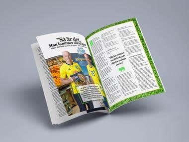 Adobe InDesign Magazine Design