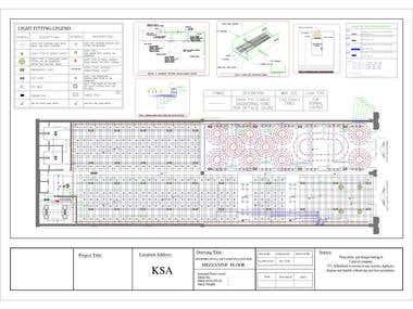 CANVAS & THE SPOT - LIGHTING SYSTEM DESIGN & SHOPDRAWING