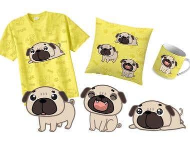 Cute Dog Design Product
