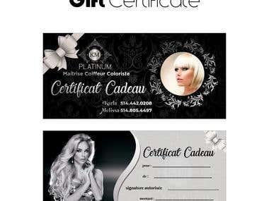 Certificate Card
