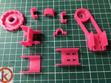 Piezas impresión 3D