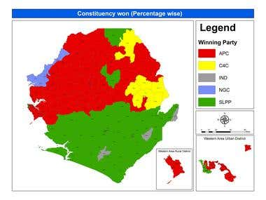 Creation of National Constituency Maps