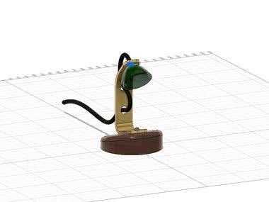 Lamp 3d Modelling